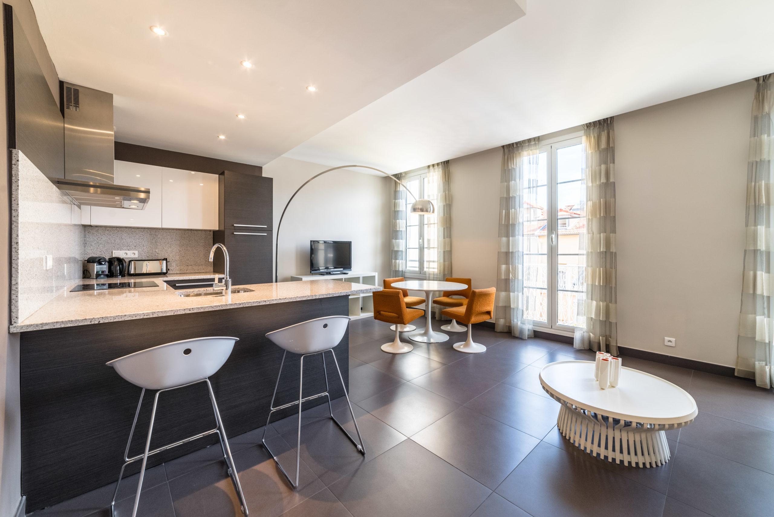Rénovation maison cuisine salon 78 Jouy-en-Josas - Quilici Rénovation